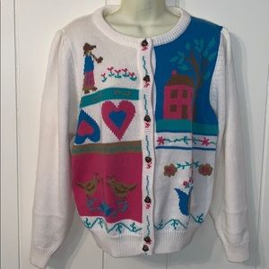 🤩Awesome Vtg That's Me cardigan sweater